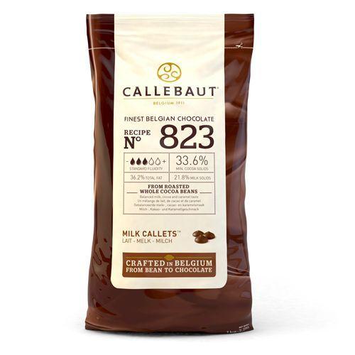 Schokoladen Callets Callebaut milk - 1 kg