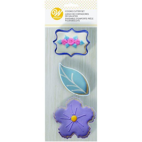 Wilton Ausstecher-Set Floral