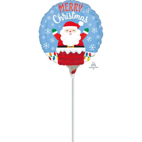 Merry Christmas Mini-Folienballon