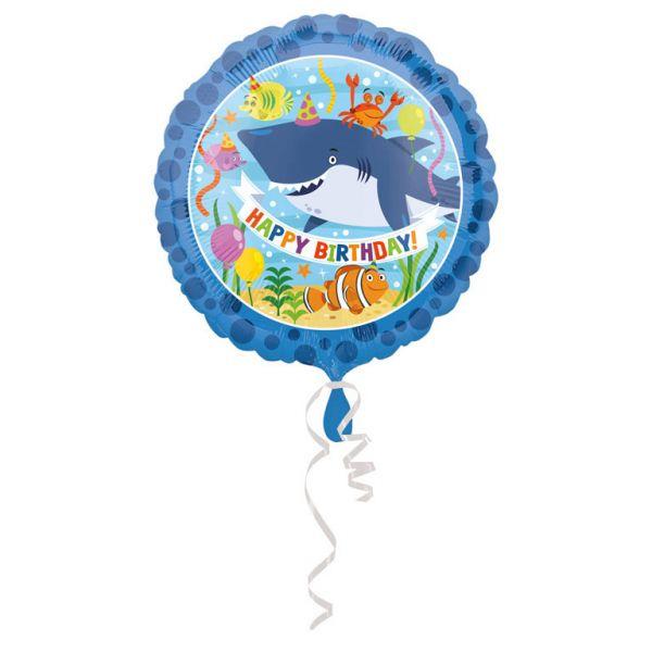 Ocean Buddies Birthday Folienballon 43 cm