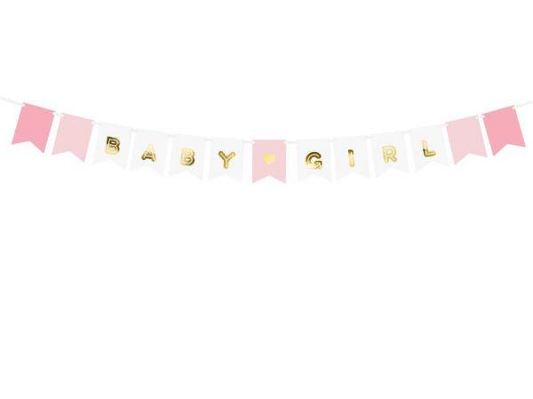 Banner Baby Girl 15 x 175 cm