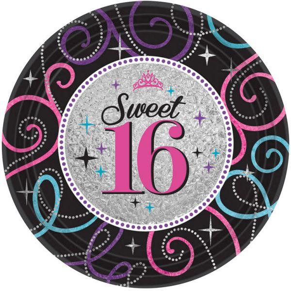 Sweet 16 - 8 Teller 23 cm