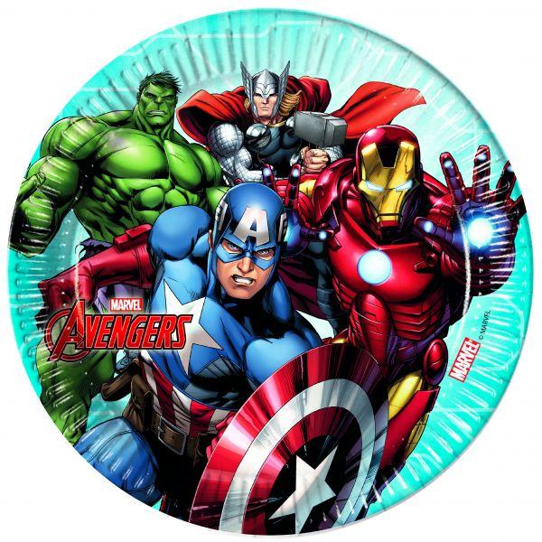 Mighty Avengers Teller 23 cm