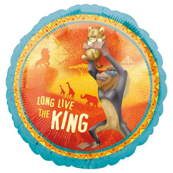 Lion King Folienballon 45 cm
