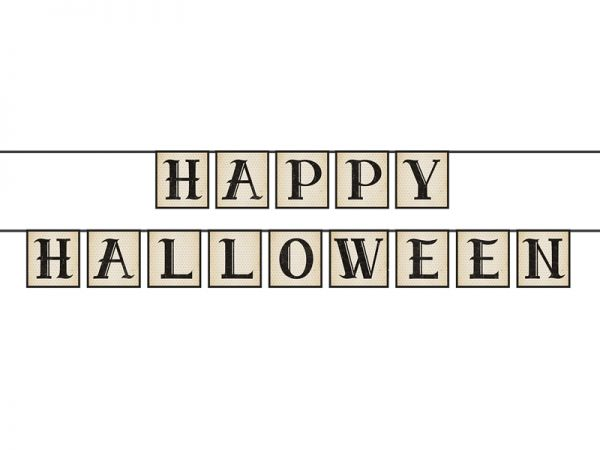 Banner Happy Halloween 14 X 210 cm