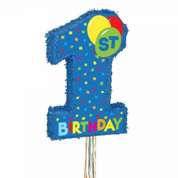 1st Birthday Boy Pinata