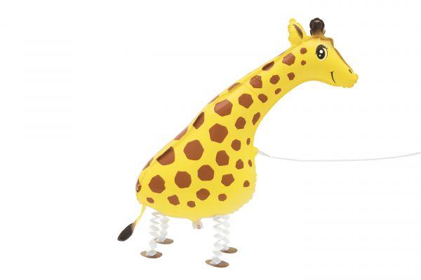Walking Pet Giraffe Folienballon