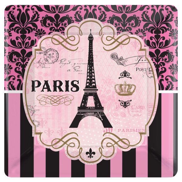 A Day in Paris 8 Teller 25,4 cm