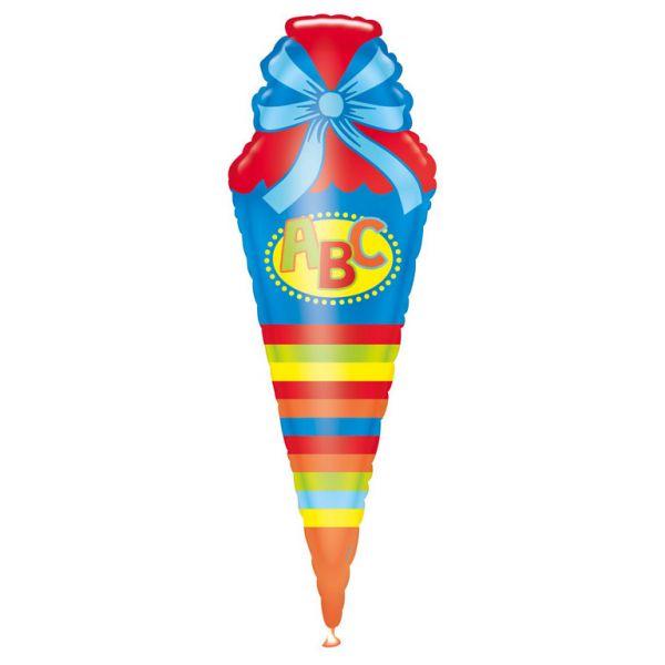 Abc Schultüte Folienballon 35 X 111 cm