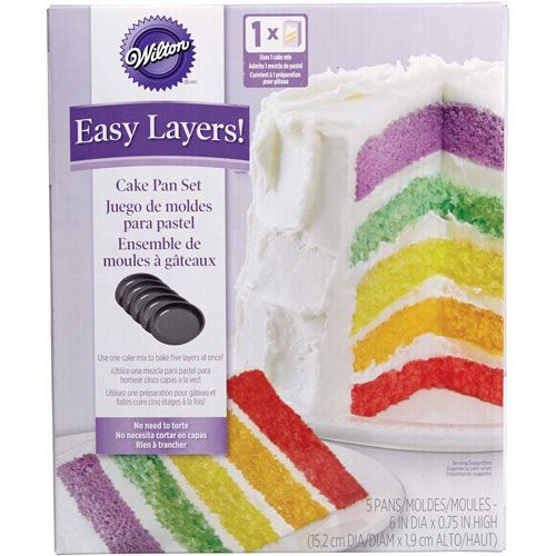 Wilton Easy Layers 15Cm Rund