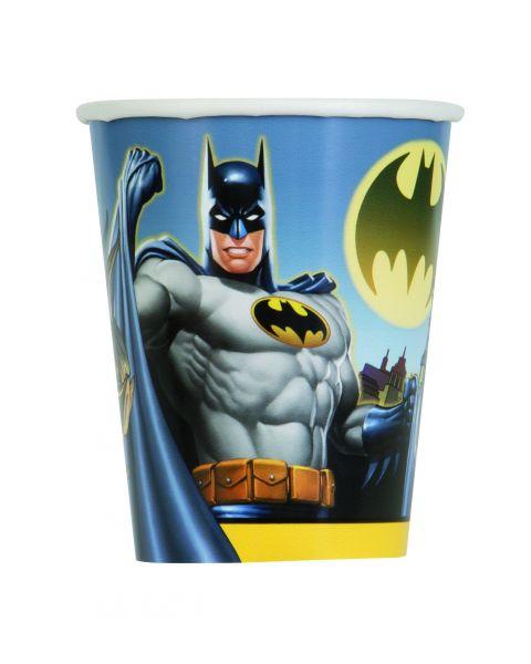 Batman 8 Pappbecher 266 ml