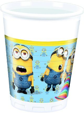 Minions Lovely, 8 Becher