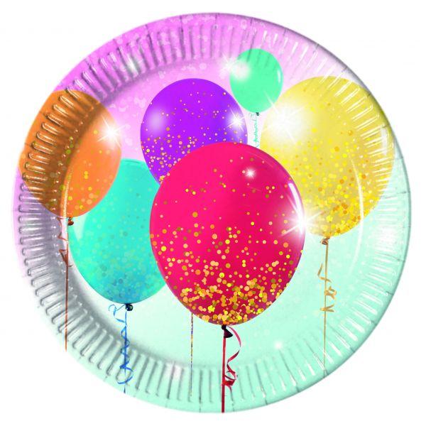 Glitter Balloons, 8 Teller