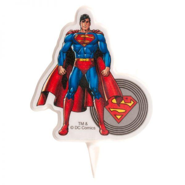 Superman Kerze