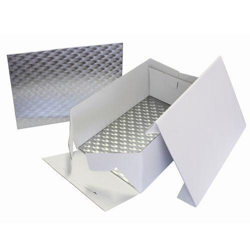 PME Cake Box & Cake Board rechteckig 3 mm - 33x22,8x15 cm