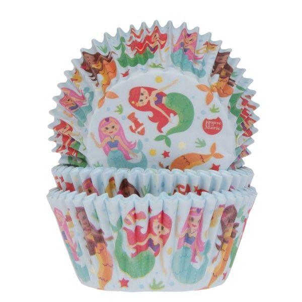 HOM Muffin Förmchen Mermaid