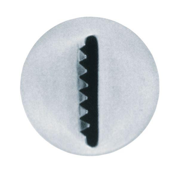 Sternband-Tülle Groß 16 mm Glatt/Gezackt