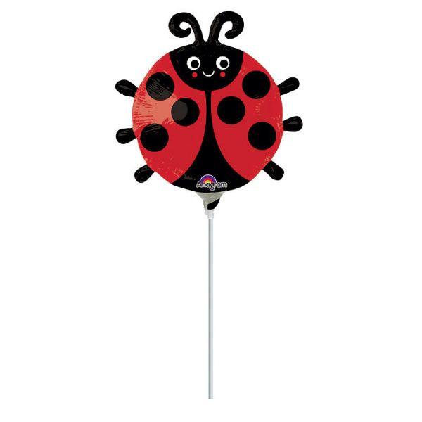 Marienkäfer Mini-Folienballon