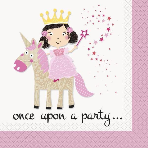 Princess Unicorn Servietten