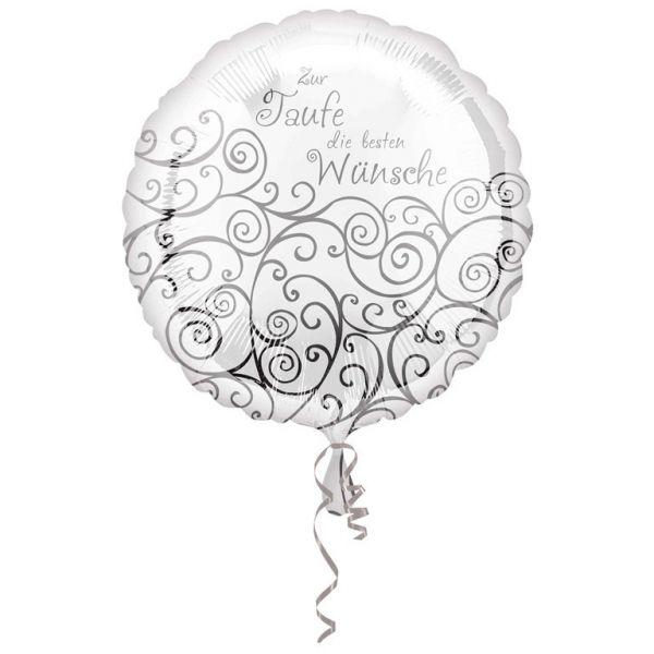 Zur Taufe Folienballon 43 cm