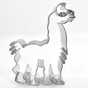 Präge Ausstecher Lama 8 cm
