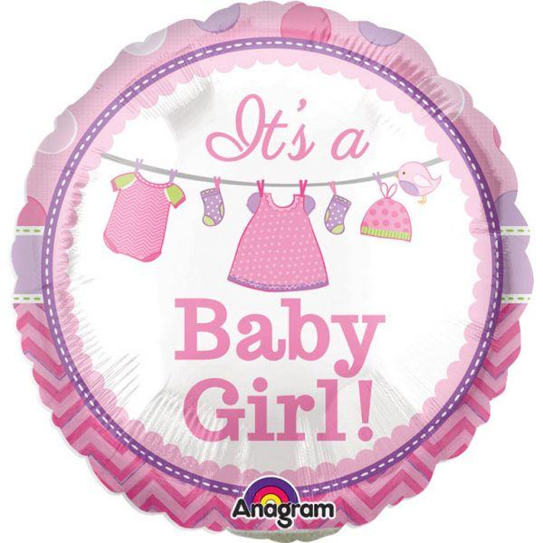 Baby Girl Mini-Folienballon