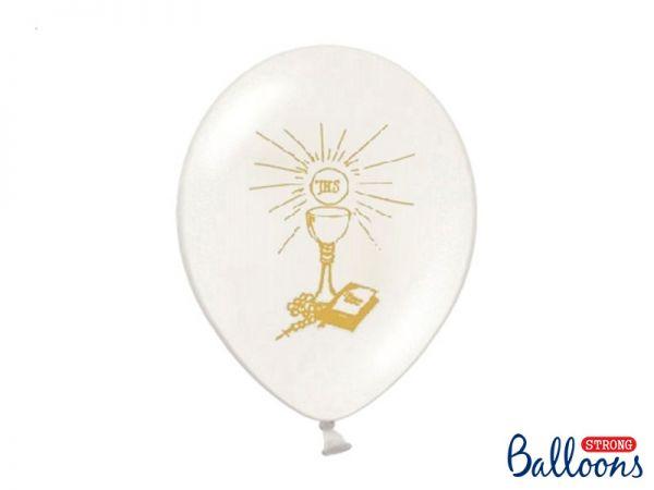 Ballon Kommunion - Pure White