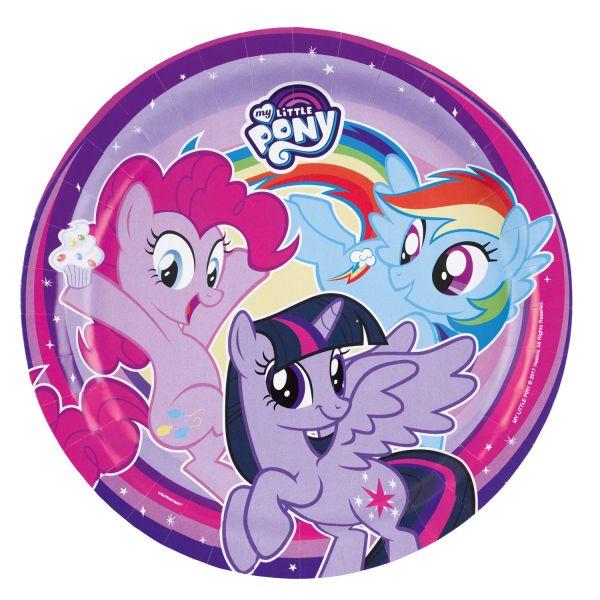 Pappteller My Little Pony 23 cm/8