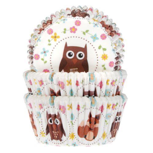 HOM Muffin Förmchen Eule