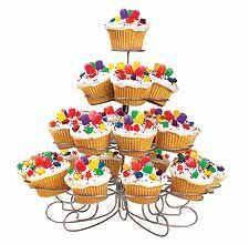 Cupcakes Metall Ständer 23 Stk.