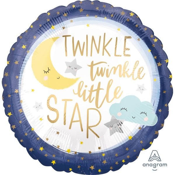Twinkle Little Star Folienballon 43 cm