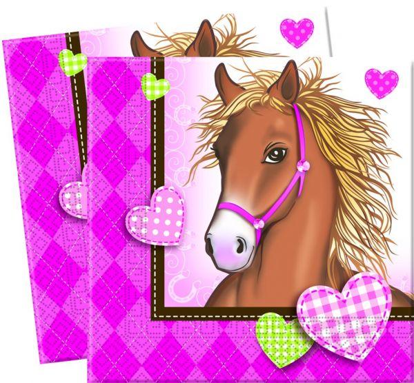Pferde, Servietten