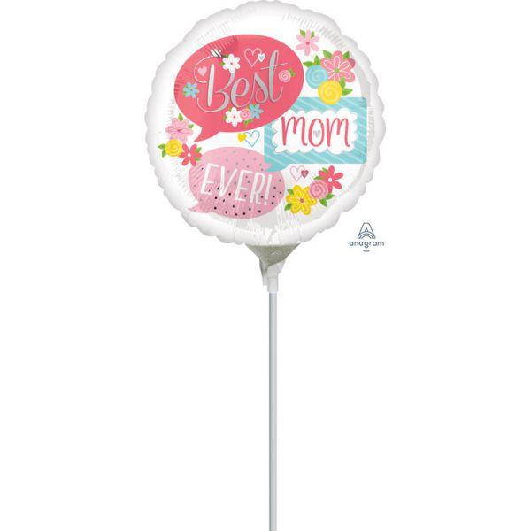Best Mum Mini-Folienballon
