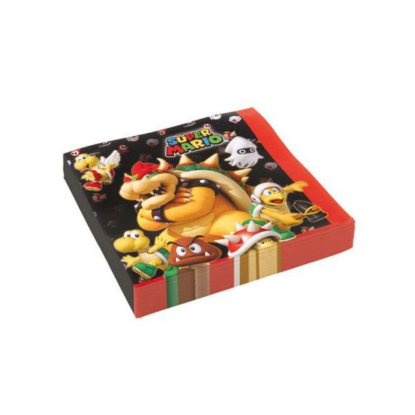 Super Mario Servietten
