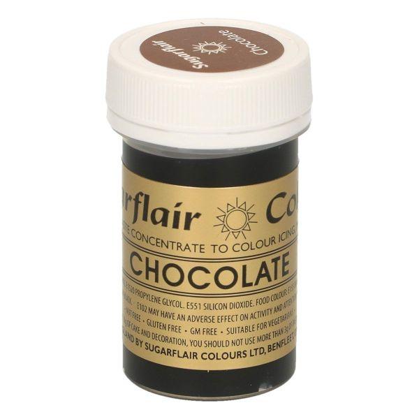 Sugarflair Pastenfarbe - Chocolate