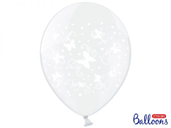 Ballon Butterflies Clear