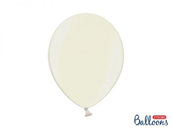 Ballon Metallic Light Cream