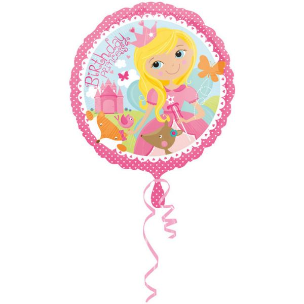Woodland Princess Birthday Folienballon 43 cm