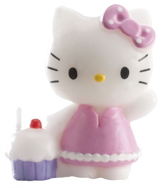 Hello Kitty Kerze 3D