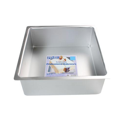 PME Extra tiefe Backform Quadratisch 15X15x10cm