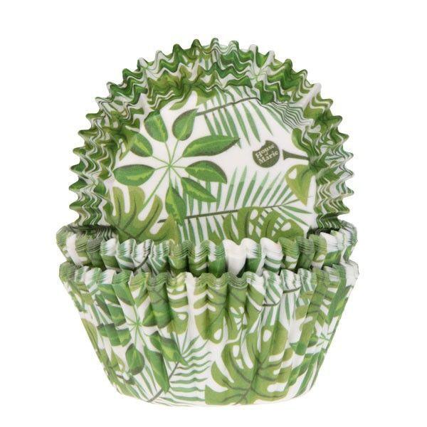 HOM Muffin Förmchen Green Leaves