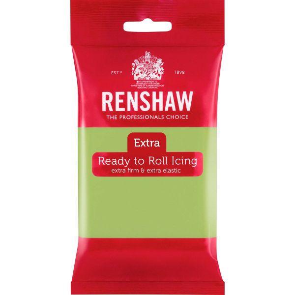 Renshaw Rollfondant Extra Pastel Green 250 g