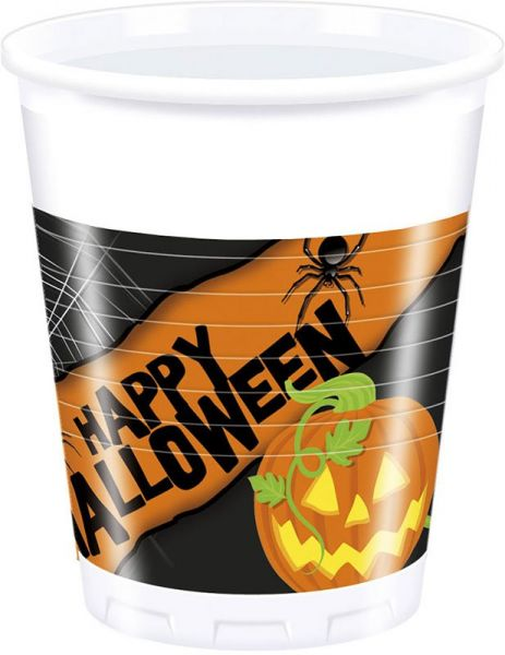 Happy Spooky Halloween Plastikbecher 200 ML