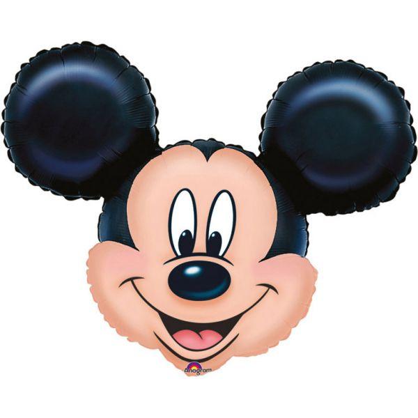 Mickey Kopf Mini-Folienballon