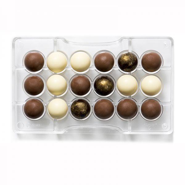Schokoladenform Halbkugel