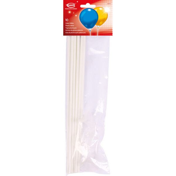 Ballon Plastik Sticks/10
