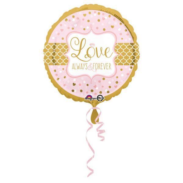 Always & Forever Folienballon 43 cm