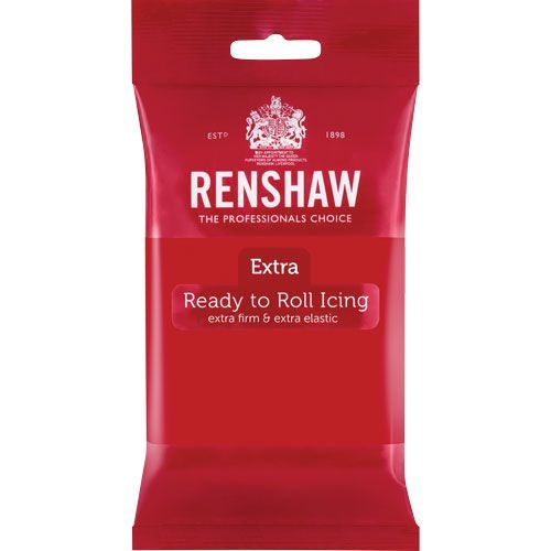 Renshaw Rollfondant Extra Red 250 g