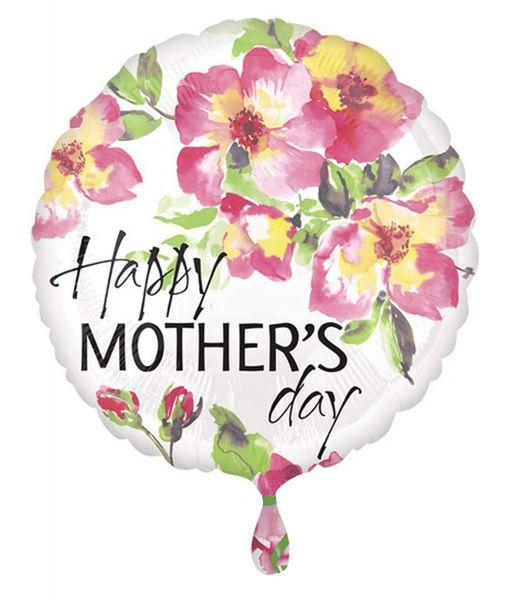 Mothers Day Paintlery Folienballon 43cm