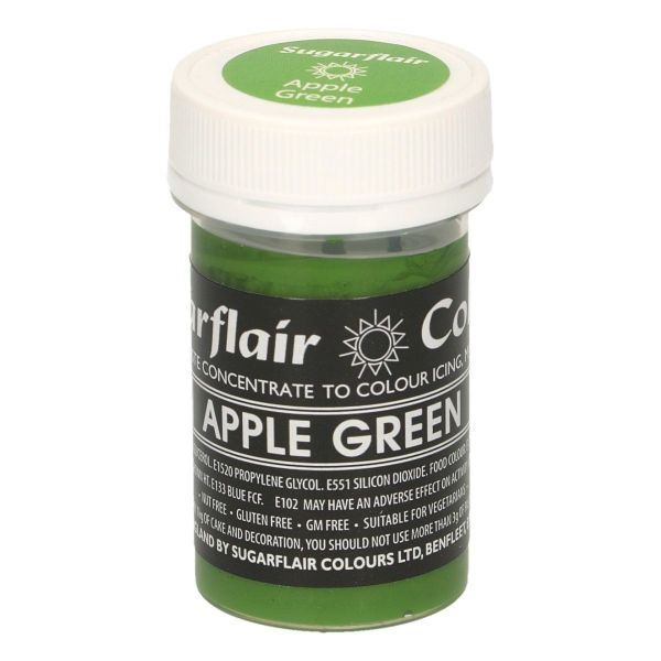 Sugarflair Pastenfarbe Pastel - Apple Green